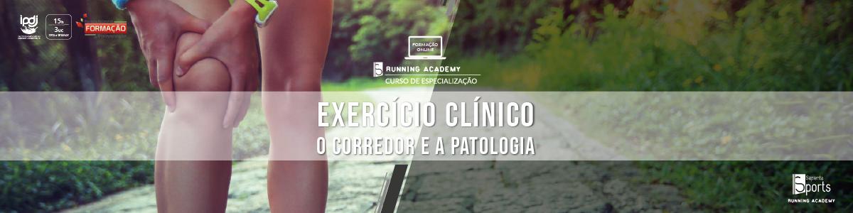 Curso de Especialização de Exercício Clínico | O Corredor e a Patologia