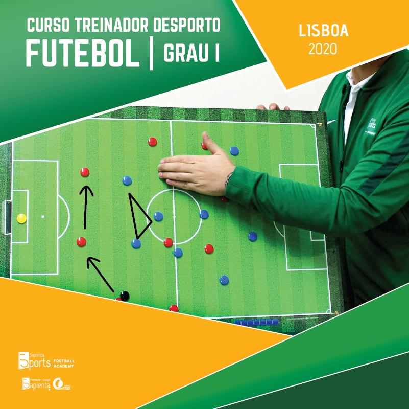Curso Treinador Desporto | Futebol - Grau I  Lisboa 2020