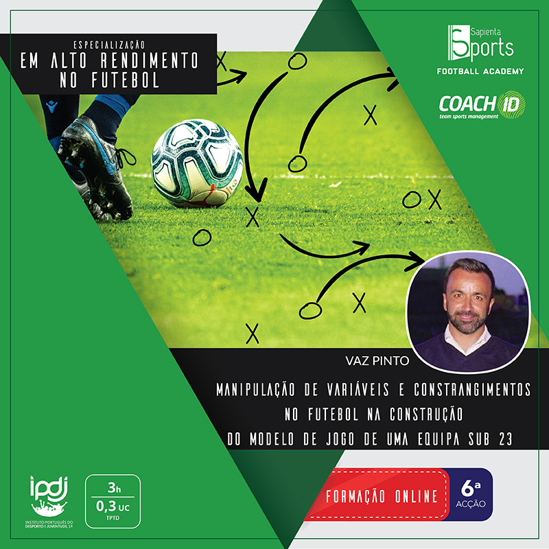 Manipulação de Variáveis e Constrangimentos no Futebol na Construção do Modelo de Jogo de uma Equipa Sub 23