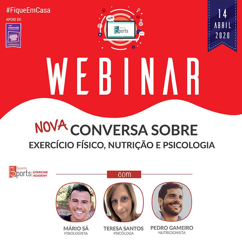 Nova conversa sobre Exercício Físico, Nutrição e Psicologia