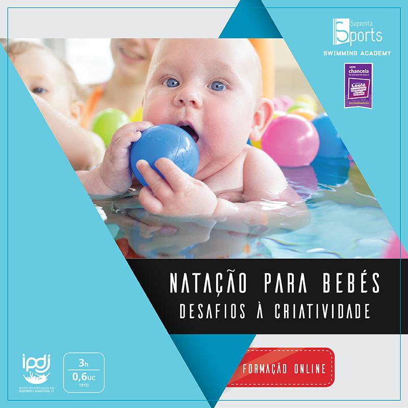 Natação para bebés: desafios à criatividade