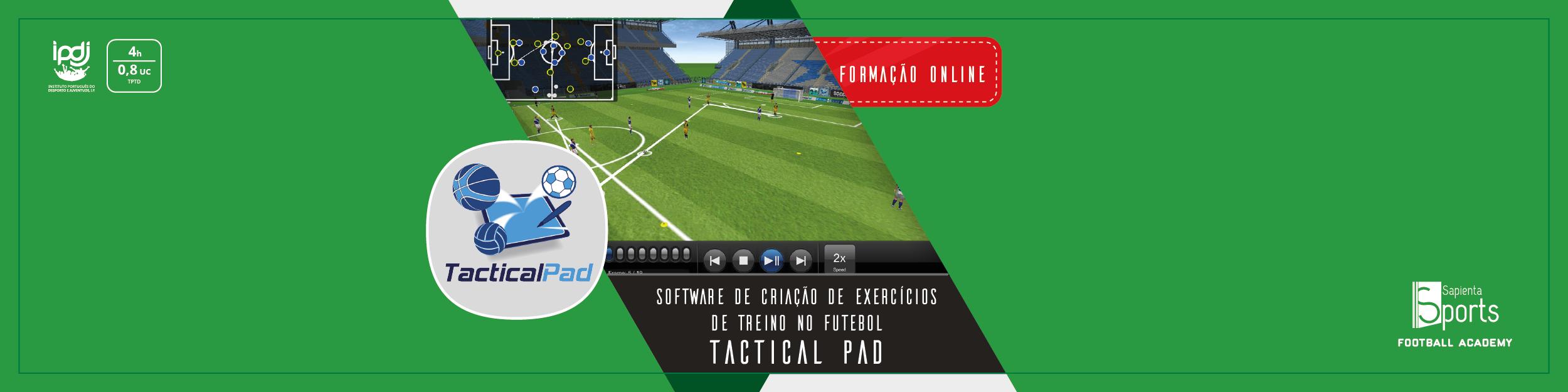 Software de Criação de Exercícios de Treino no Futebol – TACTICAL PAD