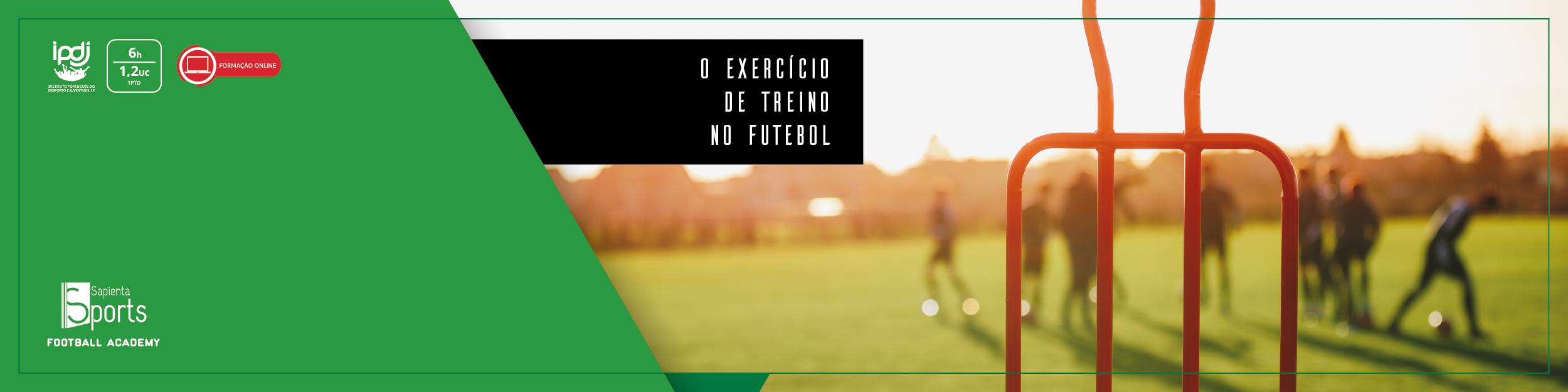 O Exercício de Treino no Futebol
