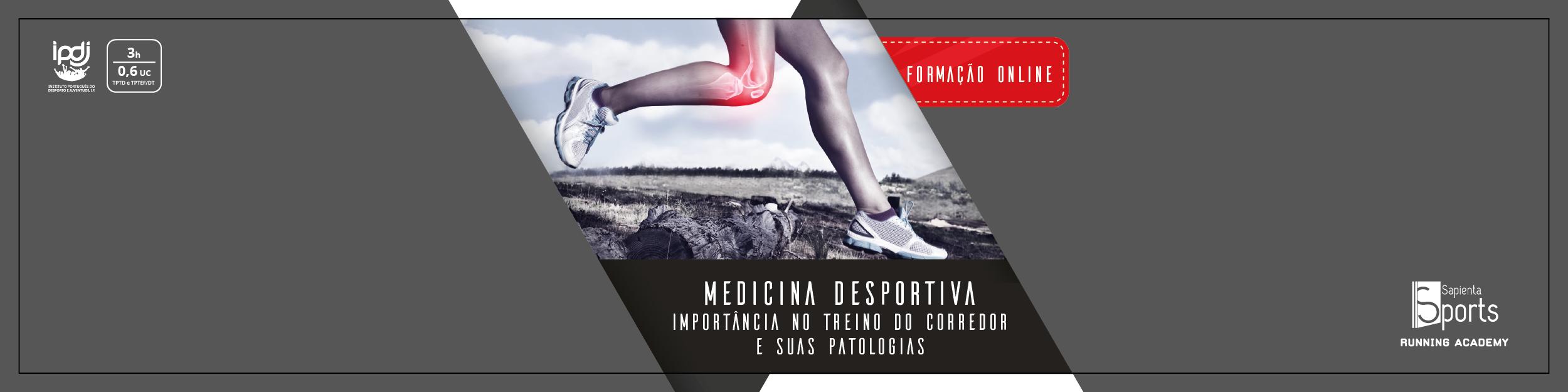 Medicina Desportiva | A importância no treino do corredor e suas patologias